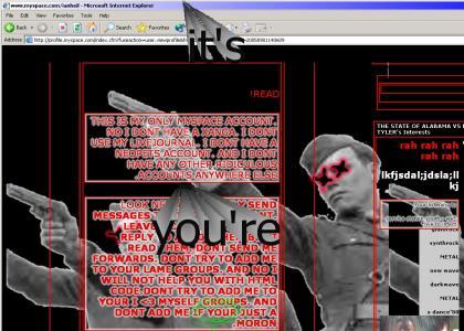 Myspace kid FAILS