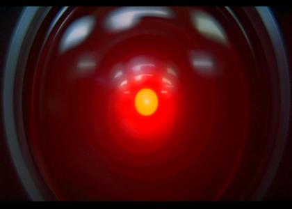 HAL 9000 Stares Into Your Soul [FIXED!]