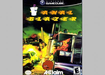 Aqua Teen: Anal Blazer - The Game