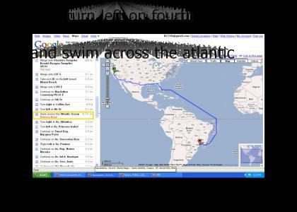 swim across the altantic ocean