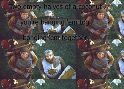 Get ready for coconuts