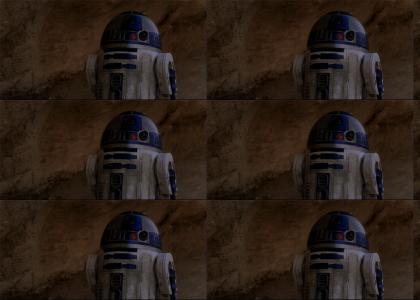 BOOM R2-D2 Headshot!