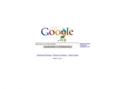 It's Google's Birthday....Google Wants A Pony