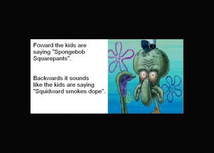 Squidward smokes dope!?