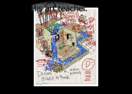 MC Escher had ONE weakness...