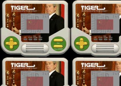 Bush Can't Escape Tiger China