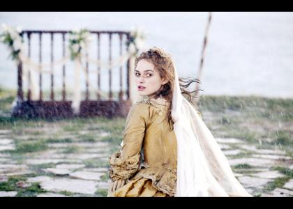 Elizabeth Swann  is beautiful