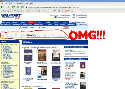 Walmart has something to say about Christians...