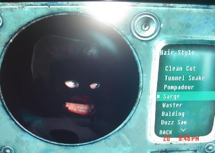 Fallout 3 Character Glitch
