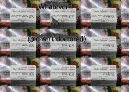 Whatever???