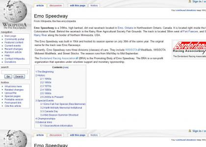 Emo Speedway