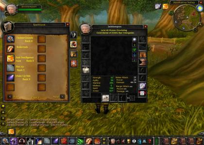 Jack Thompson Plays WoW!