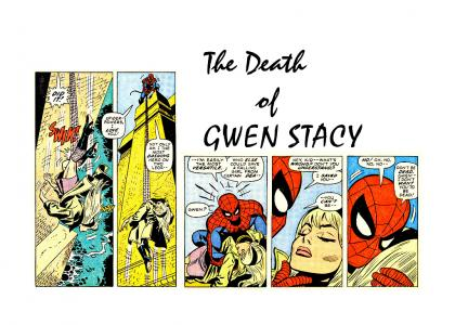 Gwen Stacy... the Aerith of Comics