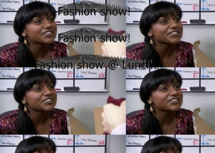 Fashion Show!  Fashion Show!