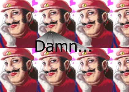 Oh noes! it's Transvetite Mario!