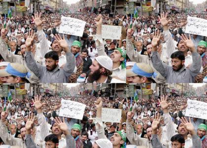 Islamic Protest, YTMND Style!