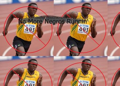 Michael McDonald Doesn't Like Usain Bolt