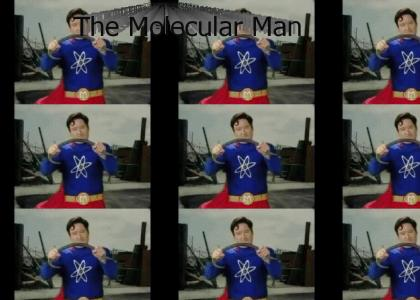 Conan is...The Molecular Man!