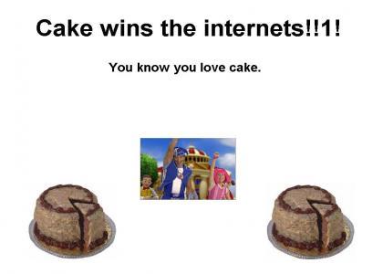 Cake Wins.