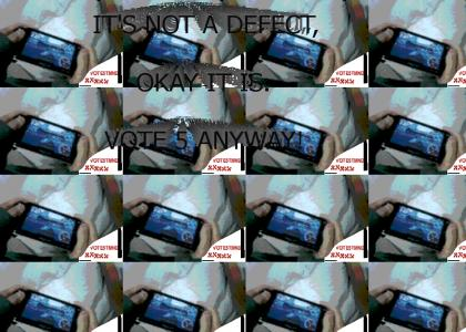 VOTE5TMND:  It's not a defect, it's a 5!