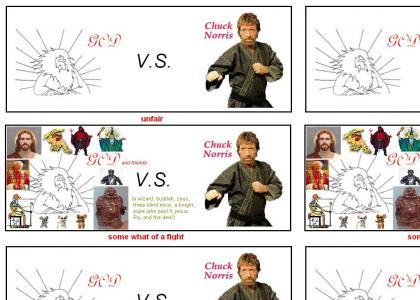 Chuck Norris VS God