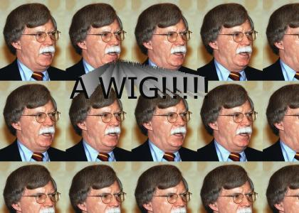 What's that on your head John Bolton?