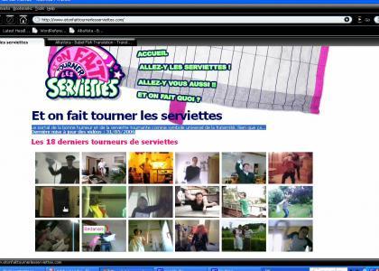French site w/ ytmnd like fads?