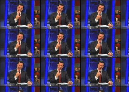 Colbert brings the thunder