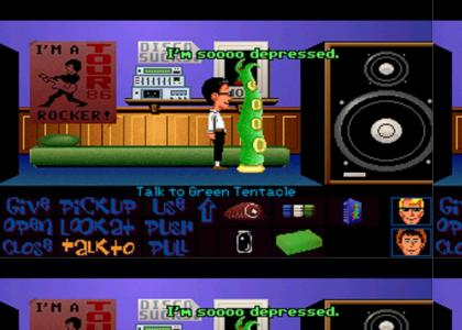 Maniac Mansion's Emo Tentacle