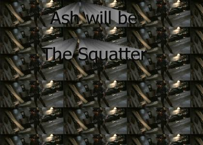 Ash loves to Squat