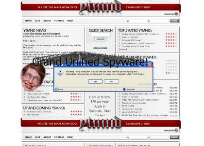 OMG! Stephen Hawking thinks I have Spyware!