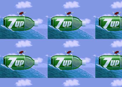 7up Cool Spot surfin'