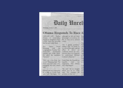 "News: Obama responds to ""not black"" allegations"