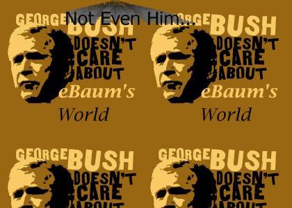 Not even George Bush likes e-baums world...