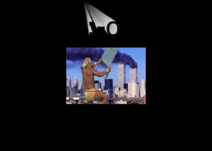 Hulk Hogan destroys the WTC!!!