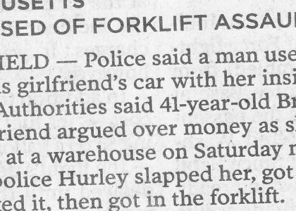 Forklift Assault