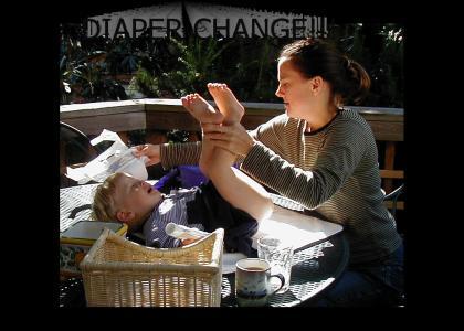 Diaper Change!