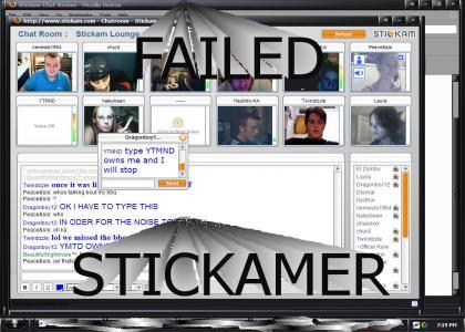 Stickam FAILS