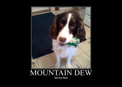 Puppycan: Get the Dew