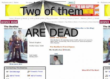 The Beatles Myspace?