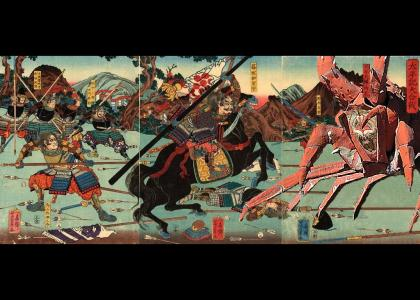 Giant Enemy Crab in Japanese History