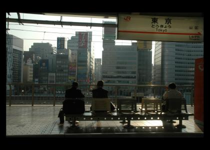 Tokyo a Go Go - Train Station