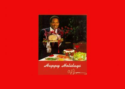 Happy Holidays from Nicole Brown Simpson
