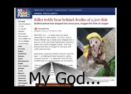 The war on fish has begun...