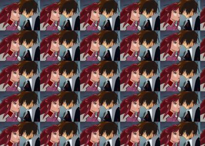 Face Hugger Anime Style