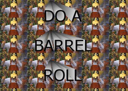 Do A Barrel Roll, Mario!