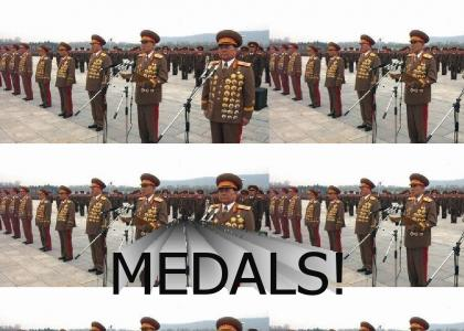 N. Korea generals are the best