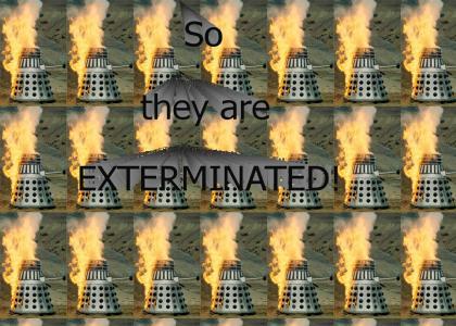 Daleks fail at life