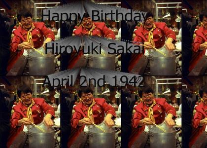 Happy Birthday Hiroyuki Sakai!