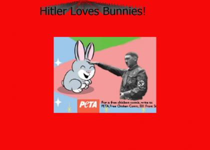 Hitler Pets the Bunny!